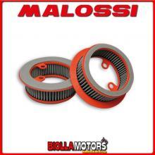 0415216 V FILTER FILTRO ARIA MALOSSI ANTERIORE lato destro YAMAHA T MAX 530 ie 4T LC 2012 (J409E)