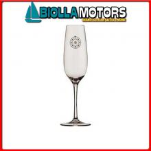 5801456 MB BALI SET 6 BICCHIERI FLUTE Calice Champagne