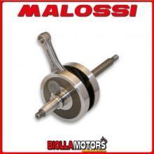 5312896 ALBERO MOTORE MALOSSI GILERA RUNNER ST 200 4T LC EURO 3 SP. D. 15 CORSA 48,6 MM -