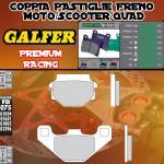 FD075G1651 PASTIGLIE FRENO GALFER PREMIUM ANTERIORI TGB QUADBLADE 400 06-