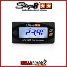 S6-4034 MINI TERMOMETRO STAGE6 2 TEMPERATURE 0-120C ALIMENTAZIONE 12V