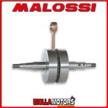 5312590 ALBERO MOTORE MALOSSI RHQ DERBI GPR NUDE 50 2T LC <-2005 (EBS050) SP. ? 12 corsa 40 mm -