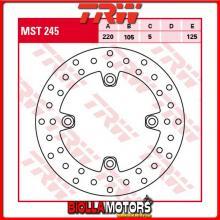 MST245 DISCO FRENO POSTERIORE TRW Triumph 955 Daytona 1997-2001 [RIGIDO - ]