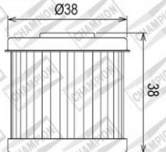 100609475 COF067 FILTRO OLIO DAELIM VS125 Evolution  97-05