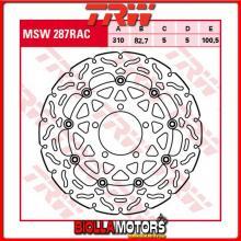 MSW287RAC DISCO FRENO ANTERIORE TRW Triumph 675 StreetTriple,ABS 2013-2017 [FLOTTANTE - CON CONTOUR]