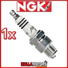 1 CANDELA NGK BR8HIX BETA Ark - ref. Liquid, LC serie K 50CC 1997- BR8HIX