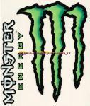 8251 Adesivo Monster Energy 2pz Medi 16x13,5 cm
