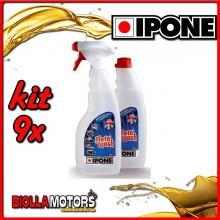 KIT 9X IPONE MOTOWASH POLVERIZZATORE + RICARICA 2X500ML - 409703150