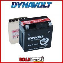 DTX5L-BS BATTERIA DYNAVOLT YTX5L-BS SIGILLATA CON ACIDO YTX5LBS MOTO SCOOTER QUAD CROSS