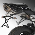 8901007 PORTATARGA MOTO REGOLABILE IN ACCIAIO HONDA CBR 600 RR 2007