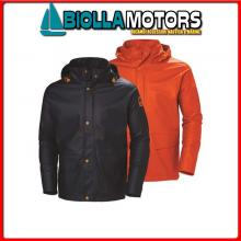 3040653 HH WW GALE RAIN JCKT 590 NAVY L Giacca Cerata HH Gale Rain Jacket