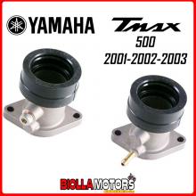 77140630+77140631 KIT COLLETTORE ASPIRAZIONE DX+SX YAMAHA T-MAX 2001 2002 2003