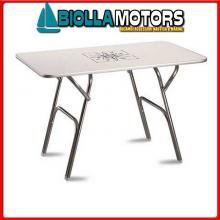 0840604 TAVOLINO RECTA FORMA 90X60 Tavoli Pieghevoli Forma Melamine Top