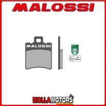 6215007BB COPPIA PASTIGLIE FRENO MALOSSI Anteriori MBK BOOSTER 50 2T euro 2 (A137E) SPORT Anteriori ** OMOLOGATE **