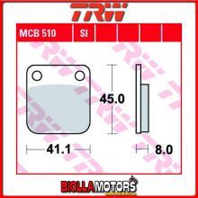 MCB510SI PASTIGLIE FRENO POSTERIORE TRW Keeway 250 Dragon Quad 2007-2009 [ORGANICA- ]