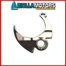 0133603 SALVA ANCORE HOOK INOX< Salva Ancore Hook Inox