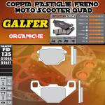 FD135G1054 PASTIGLIE FRENO GALFER ORGANICHE ANTERIORI MALAGUTI 80 F10 92-