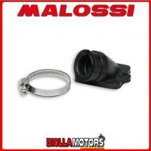 025733B COLLETTORE ASPIRAZIONE MALOSSI D. 20,5X23 ITALJET JET SET 50 2T LUNGHEZZA 26 INCLINATO NBR -