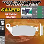 FD140G1651 PASTIGLIE FRENO GALFER PREMIUM POSTERIORI TRIUMPH THUNDERBIRD 900/SPORT 95-