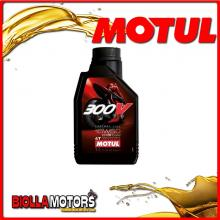 104125 1 LITRO OLIO MOTUL 300V FACTORY LINE ROAD RACING 15W50 100% SINTETICO PER MOTORI 4T