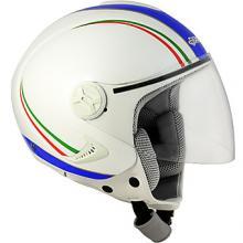 1R-I14F CASCO JET 1RI IRIDIUM ITALIA BIANCO PERLATO TAGLIA XXL
