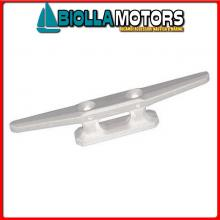 1111506 GALLOCCIA 60 WHITE Bitta Flat in Plastica Bianca