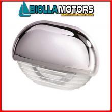 2146623 STEP LAMP 8560 CHROME CAP WH Luci di Cortesia Hella Easy Fit