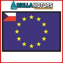 3403530 BANDIERA REPUBBLICA CECA UE 30X45CM Bandiera Repubblica Ceca UE