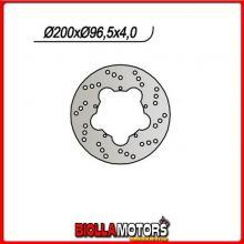 659610 DISCO FRENO ANTERIORE NG GILERA ICE 50CC 2001/2005 610 200-106-96-5-5-