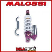 4612962 AMMORTIZZATORE POSTERIORE MALOSSI RS24 APRILIA SX 50 2T LC 2007-> (DERBI D50B0) , INTERASSE 290 MM -