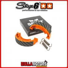 S6-1028003/R Ganasce Freno a tamburo Stage6 Racing MBK Ovetto 50cc AC 2008 STAGE6 RT
