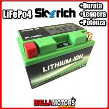 HJTZ10S-FP BATTERIA LITIO SKYRICH YTZ10S-BS LiFePo4 - YTZ10SBS MOTO SCOOTER QUAD CROSS