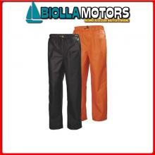 3040683 HH WW GALE RAIN PANT 290 ORANGE L Pantalone HH Gale Rain Pant
