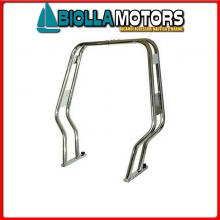 0610023 ROLLBAR D30 DOPPIO SAG STD Rollbar Doppio Sagomato