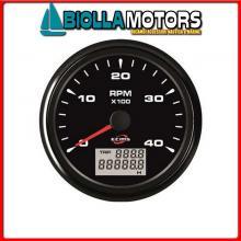 2361412 CONTAGIRI/ORE 4000G ALL BLACK< Contagiri/Contaore Ecms All Black