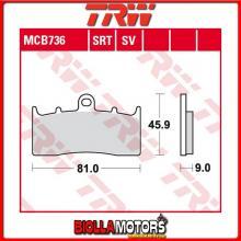 MCB736SV PASTIGLIE FRENO ANTERIORE TRW BMW R 850 R 2000-2003 [SINTERIZZATA- SV]