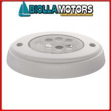 2145710 PLAFONIERA PUSH 6LED D138 Plafoniera Push On 6 LED