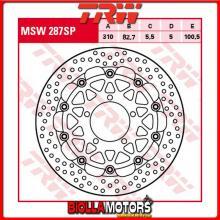 MSW287SP DISCO FRENO ANTERIORE TRW Triumph 675 Daytona,ABS 2013- [FLOTTANTE - ]