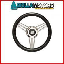 4641735 VOLANTE D350 V/STEEL POLIURETANO BLACK Volante V25/Steel