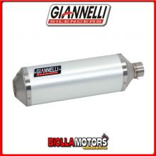73804A6+71210IN TERMINALE GIANNELLI IPERSPORT BMW C 650 GT 2012-2015 ALLUMINIO/INOX + COLLETTORE RACING