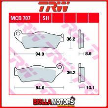 MCB707SH PASTIGLIE FRENO POSTERIORE TRW BMW R 850 C 1997-2001 [SINTERIZZATA- SH]