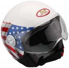 499201 CASCO DEMI-JET BANDIERA USA TAGLIA L (FASHION 701)