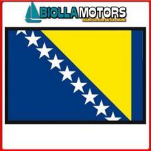 3402530 BANDIERA BOSNIA&HERZEGOVINA 30X45CM Bandiera Bosnia Herzegovina