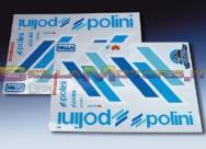 225.031 STICKERS TEAM POLINI SCOOTER C.BI. CONTORNO BIANCO