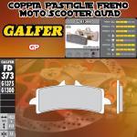 FD373G1300 PASTIGLIE FRENO GALFER GP ANTERIORI DUCATI 848 STREETFIGHTER EVO SP 12-