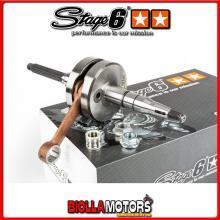 S6-8016601/12 ALBERO MOTORE STAGE6 HPC MKII BIELLA 80 SP. 12 MINARELLI ORIZZONTALE