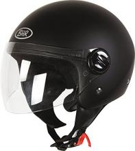 502734 CASCO DEMI-JET NERO OPACO TAGLIA XL (FASHION 704)