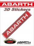 21545 ADESIVO 3D STICKERS SCRITTA ABARTH 100MM