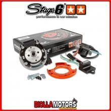 S6-4518800 Accensione a Rotore Interno Stage6 R/T BETA RR-T SM 50cc (AM6) - (tubolare) STAGE6 RT