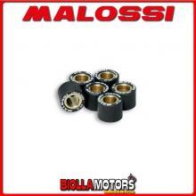 669417.N0 6 RULLI RULLI VARIATORE MALOSSI D. 15X12 GR. 8,3 YAMAHA D'ELIGHT 115 4T EURO 3 (E3M5E) - -